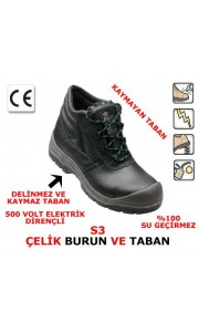 COVERGUARD S3 ÇELİK BURUN VE TABAN